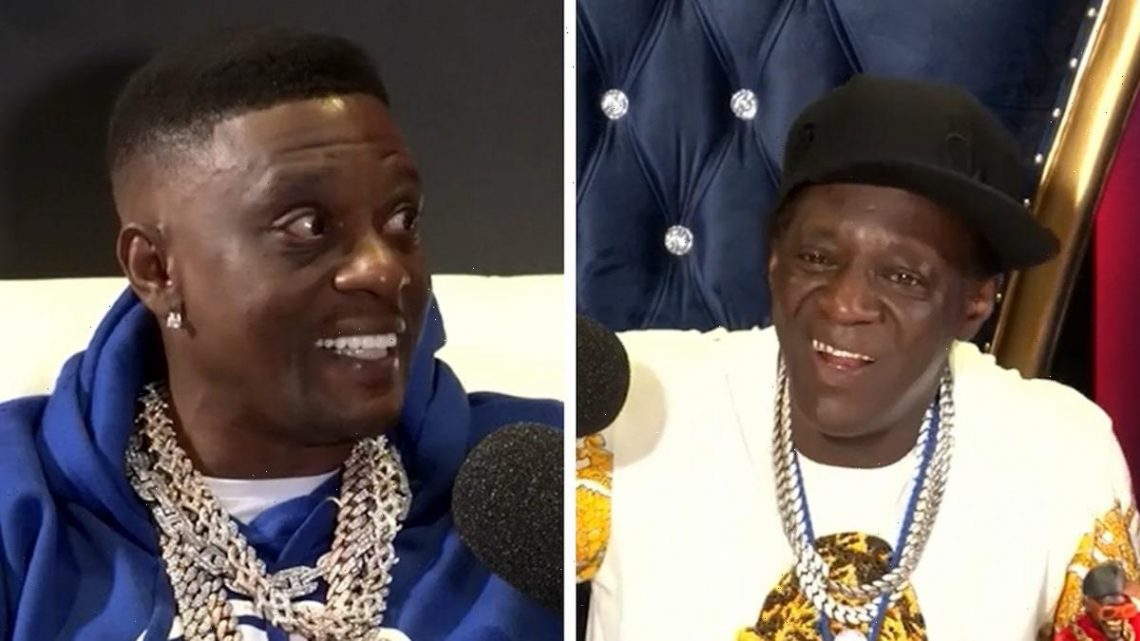 Flavor Flav and Boosie Badazz Squash Beef, Do Podcast Together