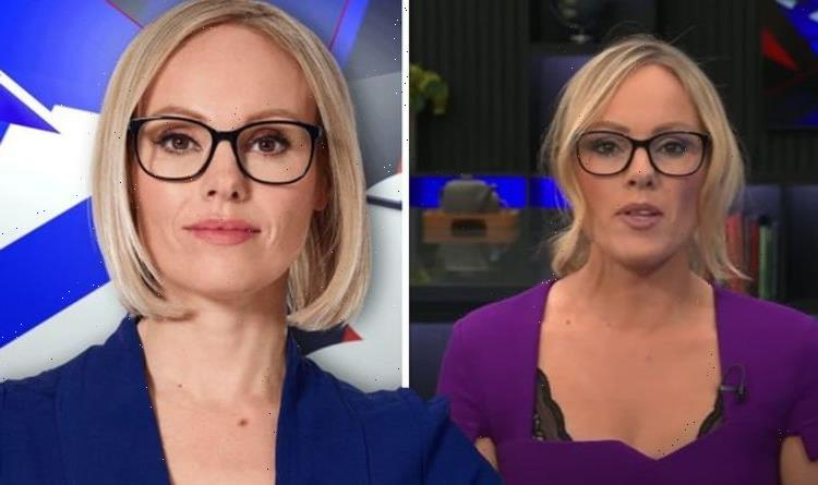 GB News' Michelle Dewberry hits out after viewer claimed her 'lacy bra' was showing