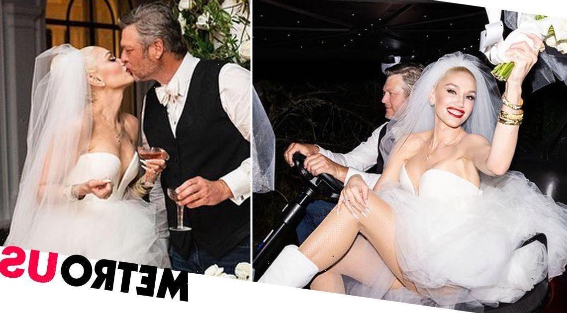 Gwen Stefani and Blake Shelton confirm wedding with gorgeous photos