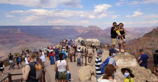 How Crowded Are America's National Parks? See for Yourself.