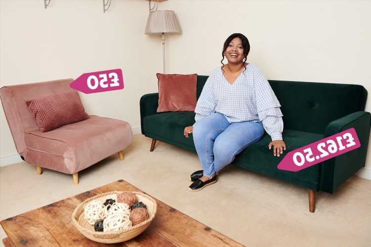 I kitted out my two-bed house on £500 – I nabbed John Lewis bed for £10 and Made sofa half price, here's how you can too