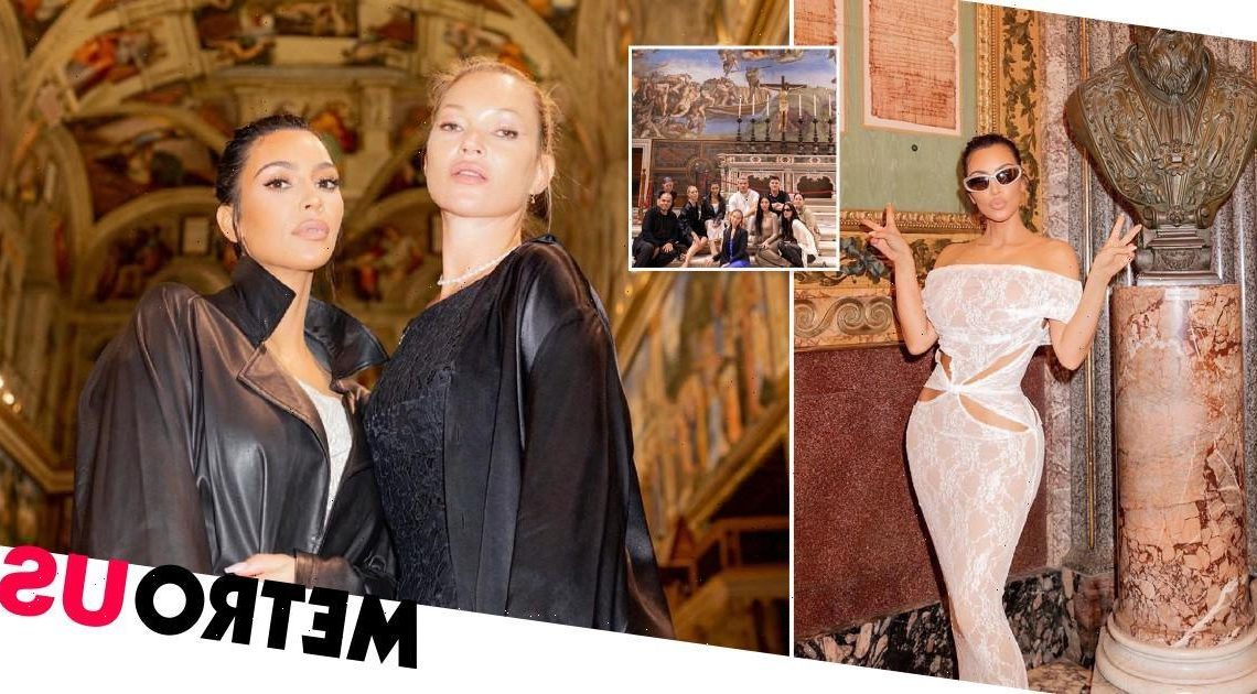 Kim Kardashian reacts to criticizm over dress choice for Vatican trip
