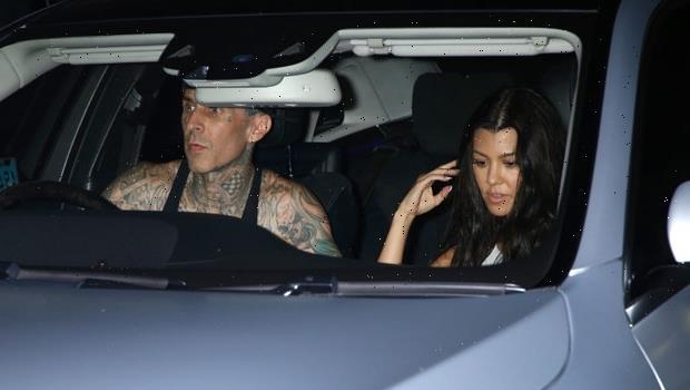 Kourtney Kardashian & Travis Barker's Marriage Plans Revealed As They Enjoy Romantic Date Night At Jaden Hossler Concert