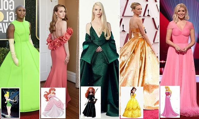 LIZ JONES says Disney princess dressing a glimmer of happy times ahead