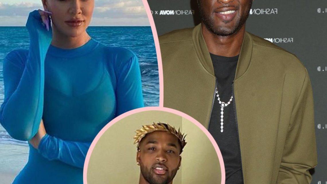 Lamar Odom Thirsts Over Ex Khloé Kardashian's Bikini Pic Following Tristan Thompson Split!