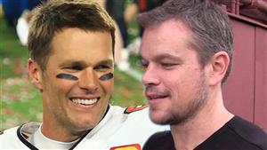 Matt Damon Says He'd Root For Tom Brady In Buccaneers Vs. Patriots Super Bowl