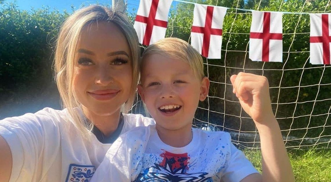Mum's witty letter to kids' teachers after letting them stay up to watch England