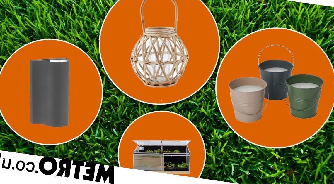 Plants and furniture to turn your garden into a relaxing outdoor haven