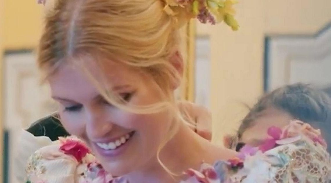 Princess Diana's niece Lady Kitty Spencer breaks her silence after dad misses wedding
