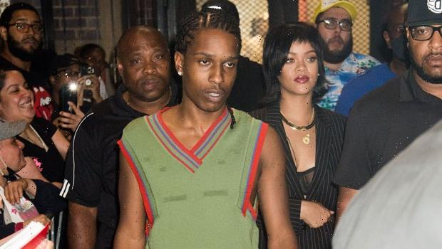Rihanna & A$AP Rocky Looked So 'In Love' On Romantic Getaway To Miami