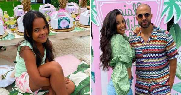 Rochelle Humes throws incredible Beverly Hills themed bash for daughter Alaia