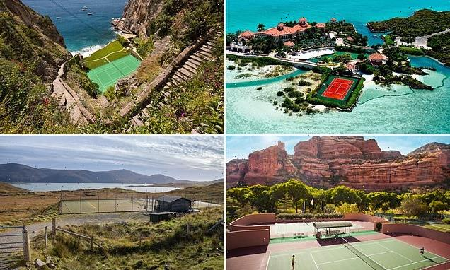 Ten of the world's most incredible tennis courts