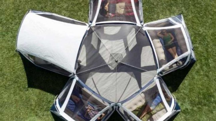 TikTok fans go mad for 20-person tent bigger than a studio FLAT – but is so popular it keeps selling out