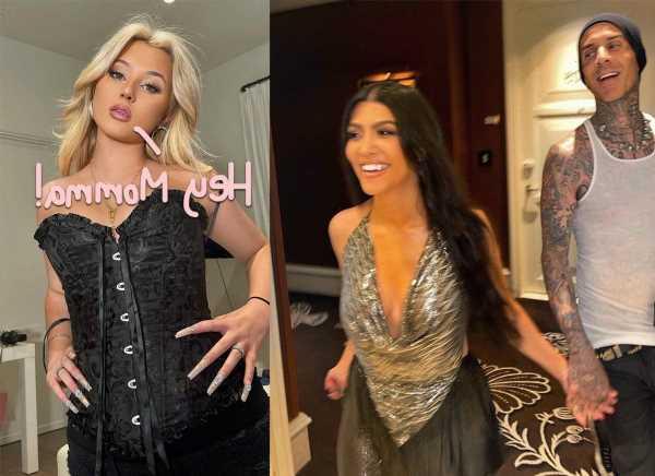 Travis Barker's Daughter Alabama Considers Kourtney Kardashian Her Stepmom! Here's The Proof!