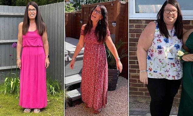 Woman who weighed 23st ditched beer for exercise and shed 10.5st