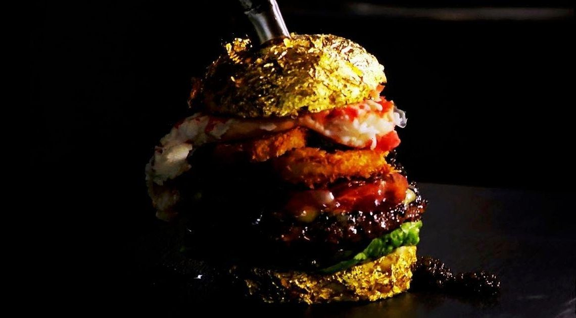 'World's most expensive burger' comes with champagne bun and costs £4k
