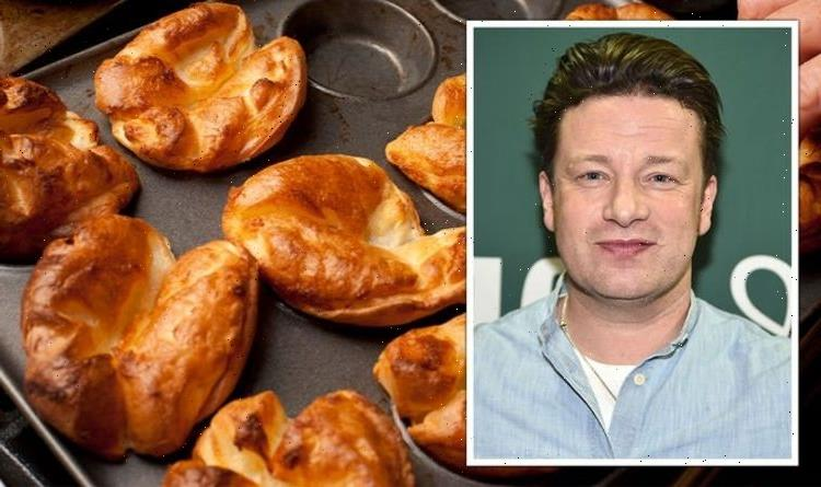 'Crisp and fluffy': Jamie Oliver shares 'absolute classic' Yorkshire pudding recipe