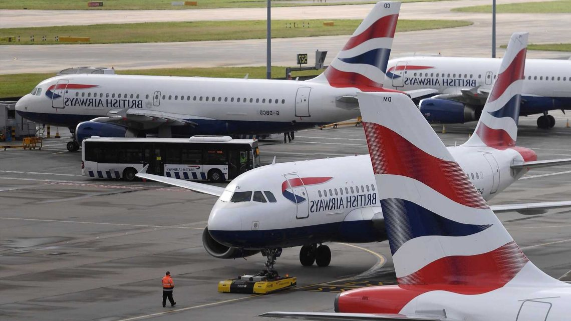 British Airways divides opinion as airline SCRAPS short-haul trolley service – and passengers have to book food & drink