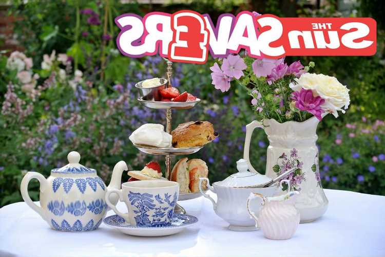 Celebrate National Afternoon Tea Week with these afternoon treats for a tasty price