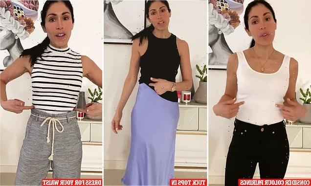 Fashion stylist reveals how to dress for your proportions