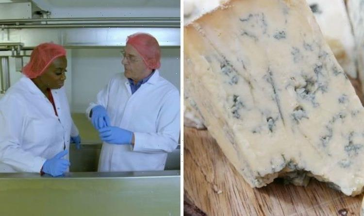 Food unwrapped: How blue cheese is really made – 'fascinating' process takes 12 weeks
