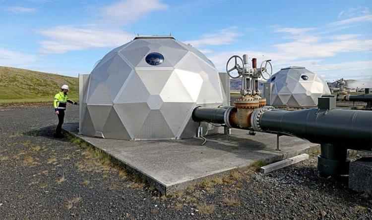 Iceland's climate change fightback: Greenhouse gases solution