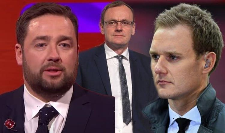Jason Manford defended by Dan Walker for sharing text message to Sean Lock after death