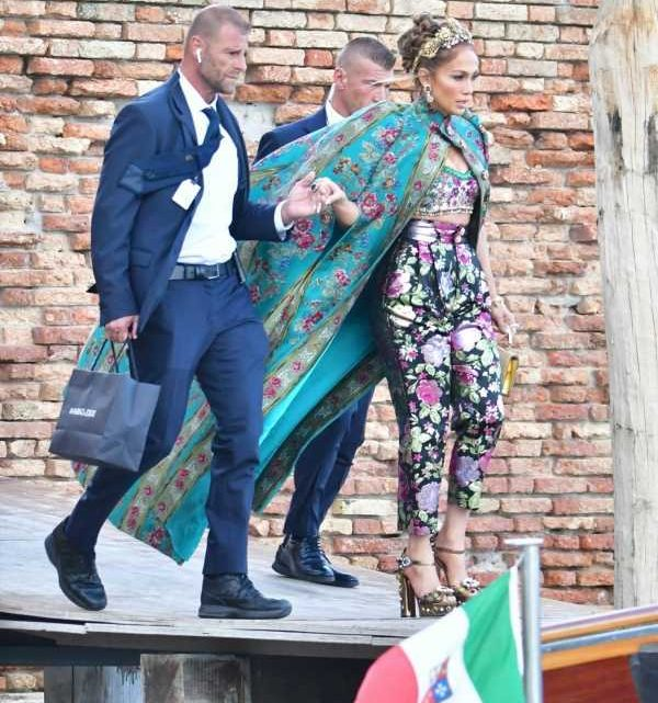 Jennifer Lopez went to Venice for the D&G show: will she stay for the film festival?