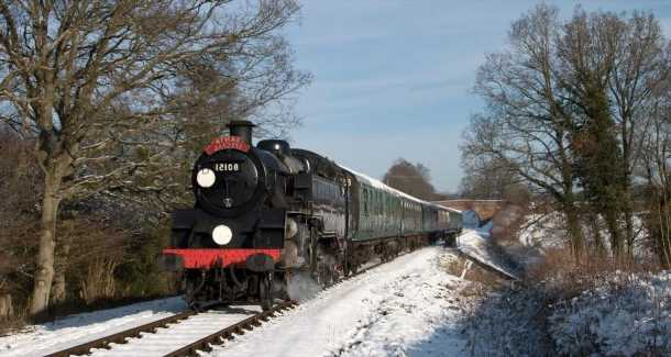 Kids will love this Santa-themed train ride on the Bluebell Railway this Christmas