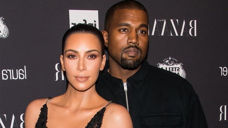Kim Kardashian shares unseen photos of her in wedding dress at Kanye's 'Donda' listening event amid divorce