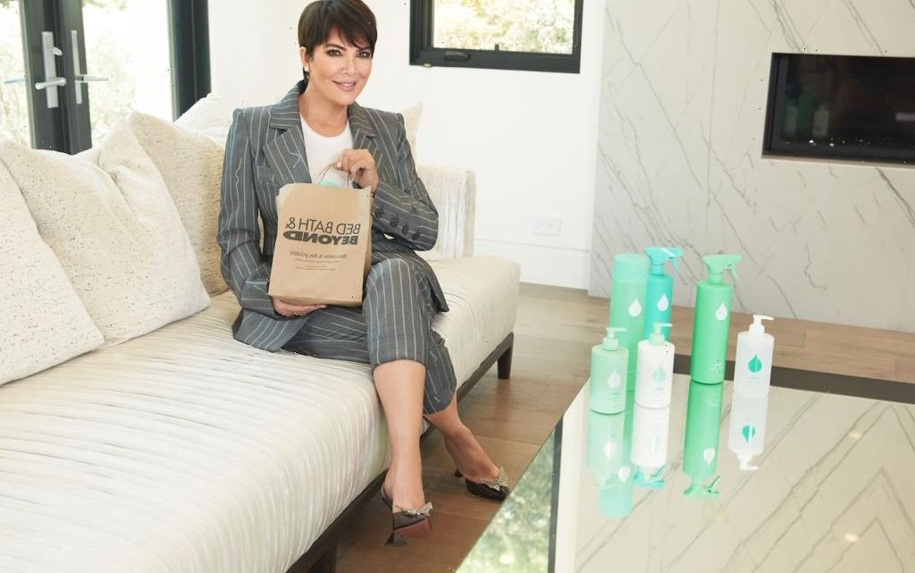 Kris Jenner's Plant-Powered Cleaning Line Is Now at Bed Bath & Beyond So You Can Clean Like a Kardashian