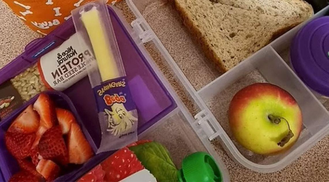 Mum worries she'll 'be in trouble' with teachers over kid's healthy packed lunch