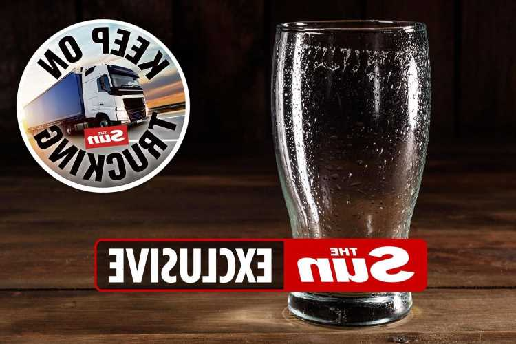 Pubs face shortage of Brits' favourite beers amid the lorry driver crisis