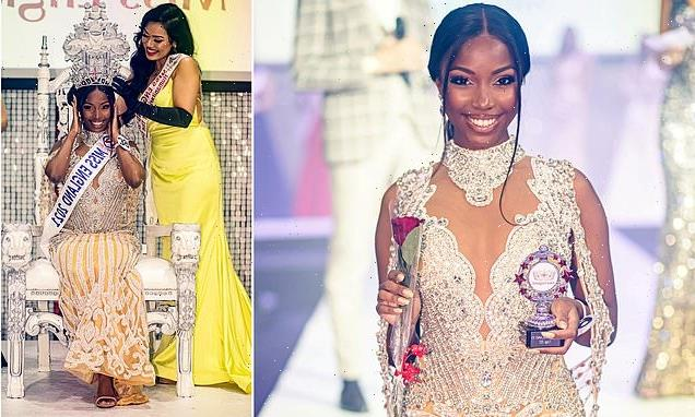 Rehema Muthamia is crowned Miss England 2021 by NHS Doctor