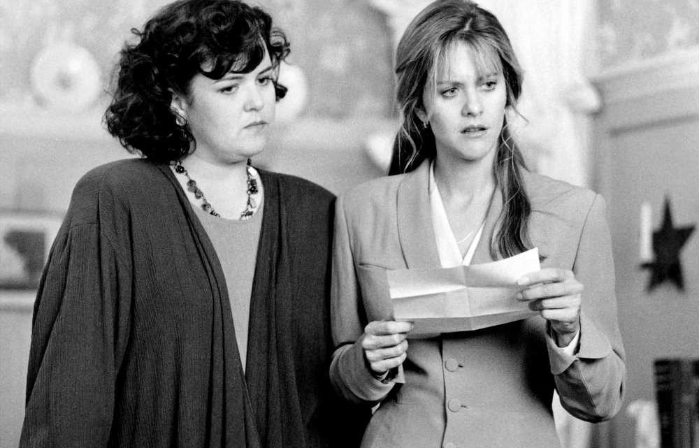 Rosie O'Donnell read lines taped to crew member's leg in 'Sleepless in Seattle'