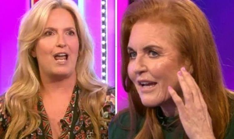 Sarah Ferguson reacts to Rod Stewart's wife Penny Lancaster after 'competition' claim
