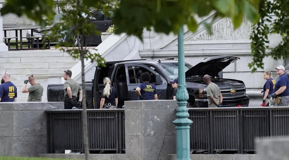Suspect in Capitol bomb threat charged with threatening to use weapon of mass destruction