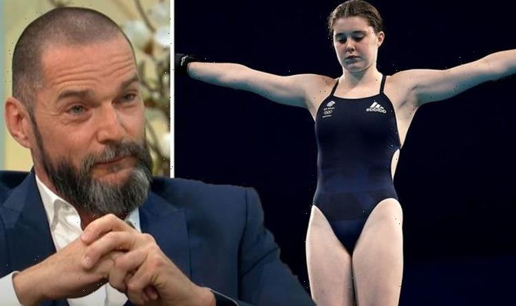 Team GB diver Andrea Spendolini-Sirieix sobs upon reunion with First Dates star dad Fred