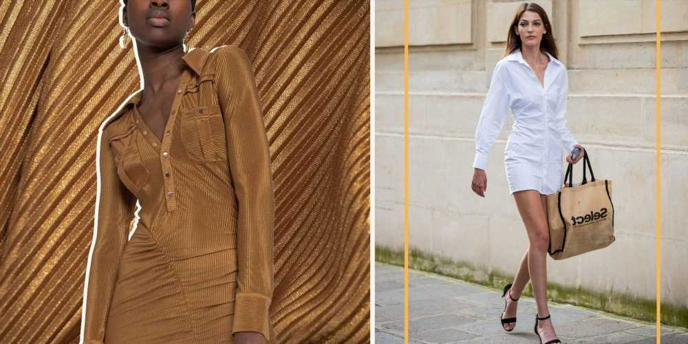 The Shirt Dress 2.0 Is Here, and It's Actually Better Than the Original