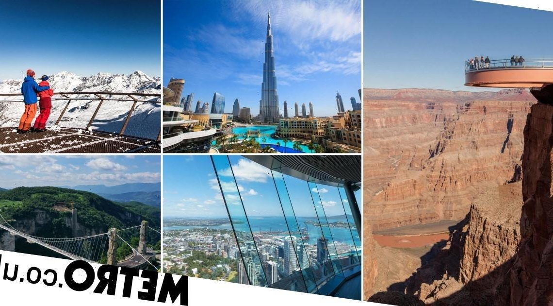 Viewing platforms around the world that are better than the Marble Arch Mound