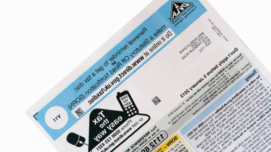 When is my car tax due for renewal and how much is it?