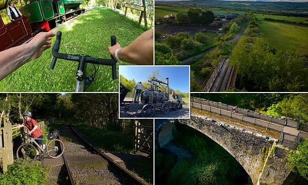 A cycling tour along the world's oldest former railways
