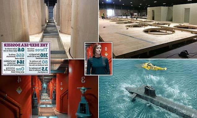 BBC's show Vigil's submarine pictures that have never been seen before