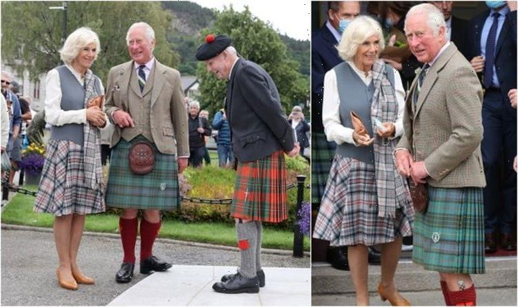 Camilla and Charles give nod to Scotland in matching tartan outfits: 'They look fantastic'