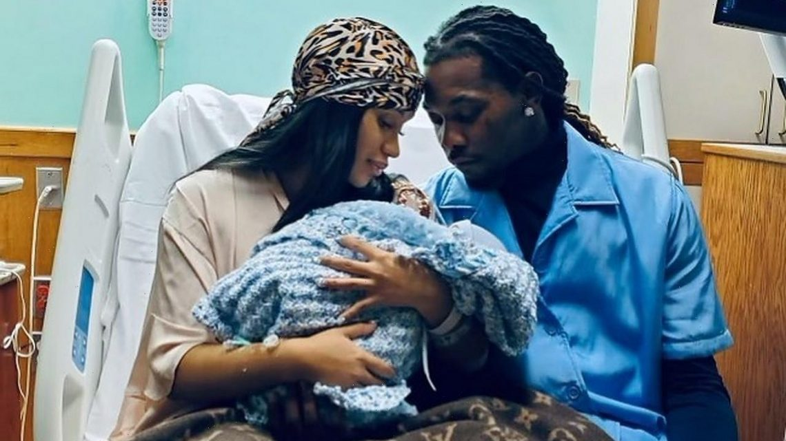 Cardi B and Husband Offset Welcome Baby Boy