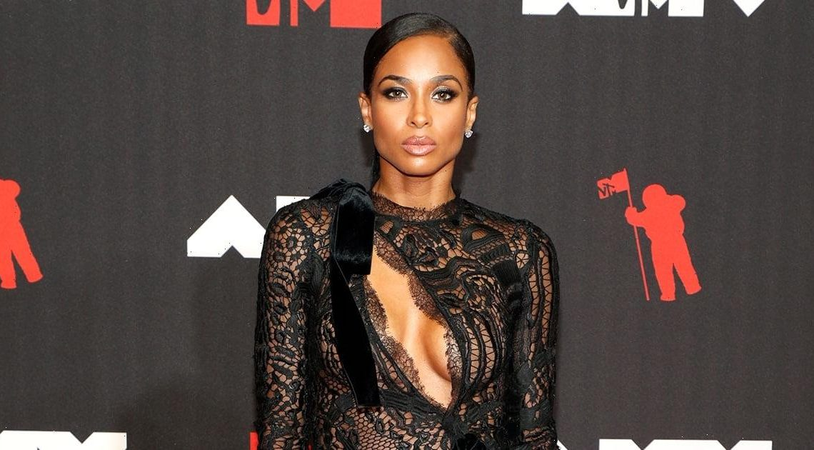 Ciara's Black Dress at the VMAs Was Made Infinitely Sexier by Lace Inserts and a Diagonal Cutout
