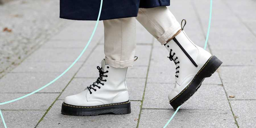 Everyone in Hollywood Is Dressing Like a 2005 Hot Topic Employee, Which Means You Need a Pair of Doc Martens
