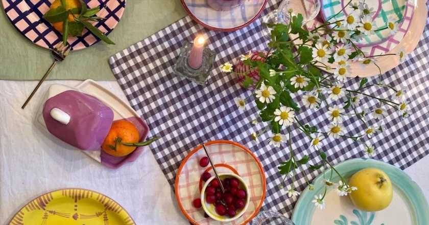 Female-Founded Friday: a tiny London brand making delectable tableware