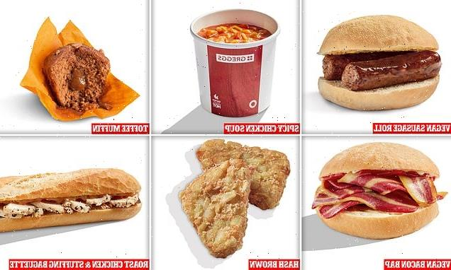 Greggs launches its Autumn Menu for 2021 including vegan bacon roll
