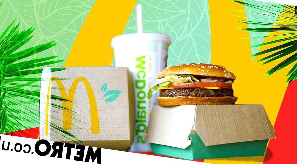 Introducing the McPlant, McDonald's first meat-free patty that tastes like beef